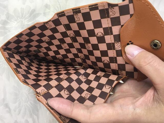 スヌーピー 三つ折り財布_8