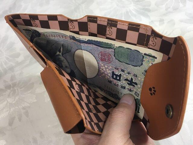 スヌーピー 三つ折り財布_9
