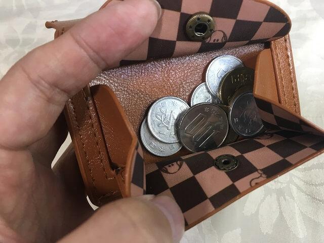 スヌーピー 三つ折り財布_b
